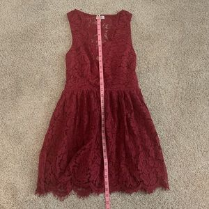 Lace Tobi dress